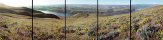 Columbia River Panorama, The Dalles, Oregon