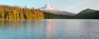 Mt Hood with Lost Lake - Sunset, Mount Hood National Forest, Oregon