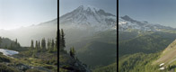 Mount Rainier Triptych, Mount Rainier National Park, Washington